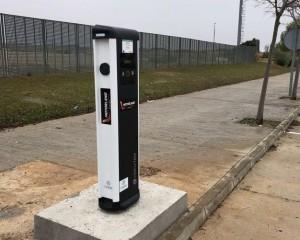 Puntos de recarga Vehículo eléctrico